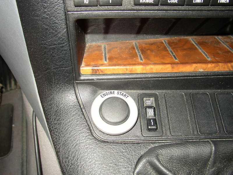 60813c474958c7dbe388178c60741863  BMW E36 Start Button