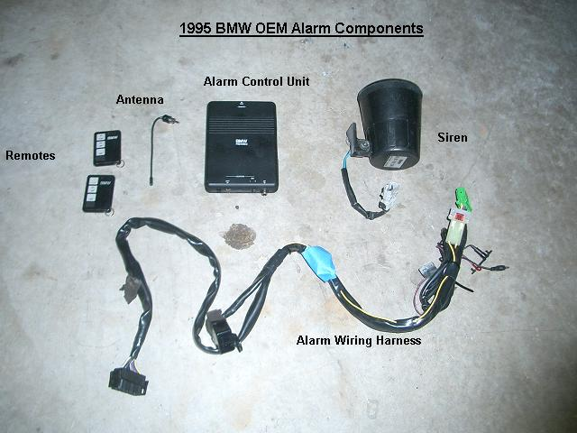 BMW OEM    Alarm    Installation  E36S50    BMW E36 3 Series DIY