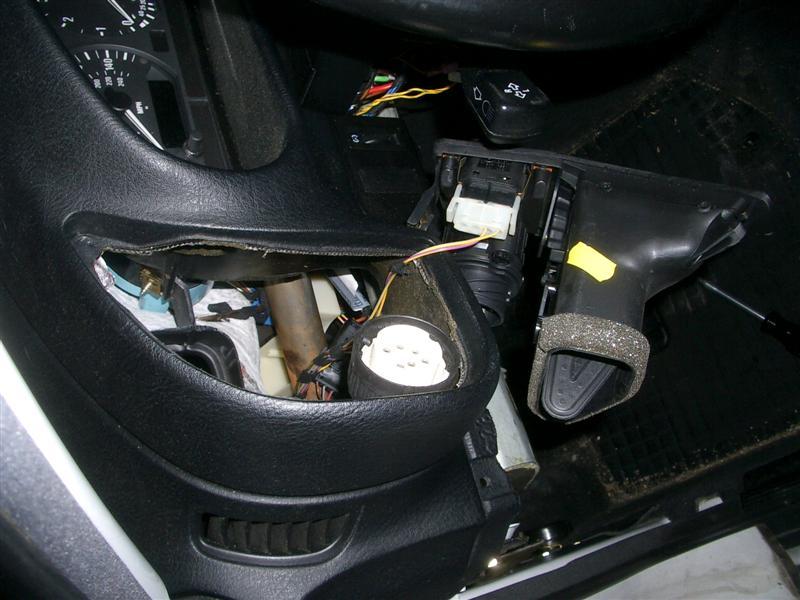 ae84cdaaeeea213f8c3daf42e049a5ed  BMW E36 Light Switch Removal