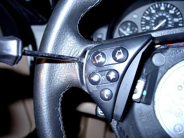 39ab1a0e557ac498652022da805d5e80  M-Sport Steering Wheel Side Pod Replacement