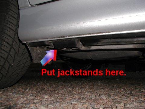 Jacking Points Bmw E39 5 Series Diy