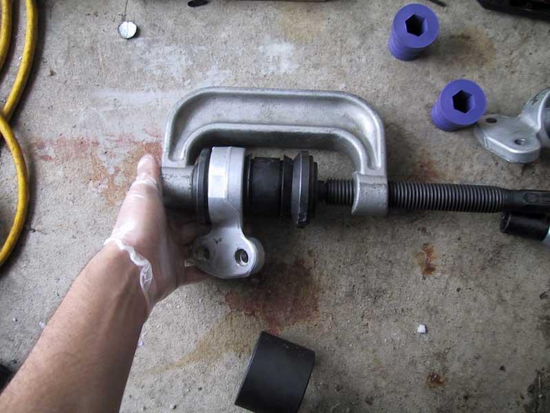 Front Control Arm Bushings Install Bmw E46 3 Series Diy