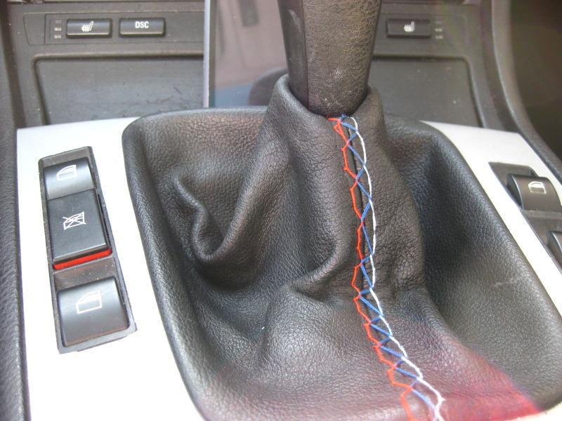 5f804ba017a184dd3cde8cddf3ce172e  Tri-Stitch M3 Style E-brake Boot