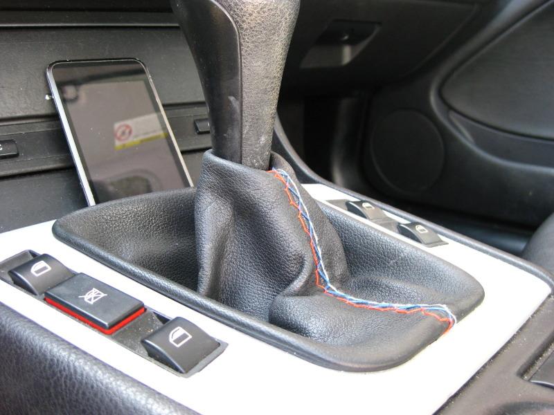 643a0f06c7f96ed63908e9fb060a0db4  Tri-Stitch M3 Style E-brake Boot