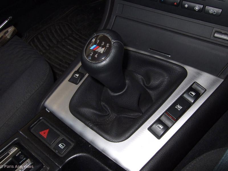 Oem bmw 3 series e90 320si m sport 6 speed gear knob 25118037309.