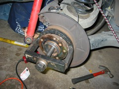 E46 rear bearing replacement | BMW E46 3 Series DIY