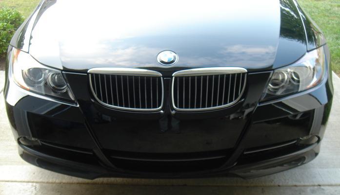 08918a0b24bceef80792bd95089aa588  OEM Sedan Front Carbon Fiber Lip Install