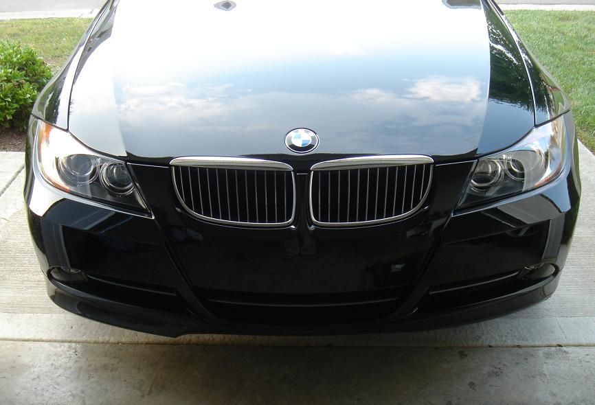 4a094fd6745cc72e0e45d211ccc0aee6  OEM Sedan Front Carbon Fiber Lip Install