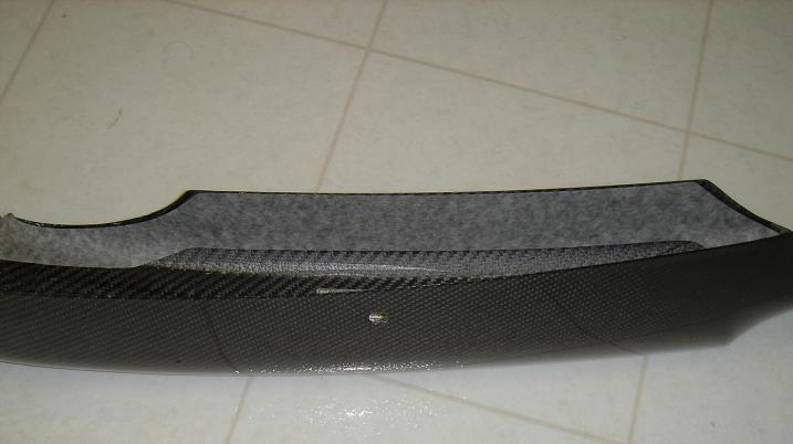 87f9b98652ed34053707e9d547b7ee2f  OEM Sedan Front Carbon Fiber Lip Install